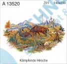 A 13520 Z01 KDV Jelen - bojující 140x230