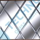 Lead Platinum oval 6mm x 50m - olověná páska na skleněné vitráže
