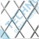 Lead Titanium oval 6mm x 50m - olověná páska na skleněné vitráže