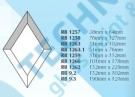 RB1259 - Bevel - Diamond 51x152 mm