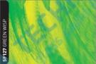 RSF127 - Green wisp - fólie pro skleněné vitráže