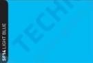 RSF14 - Light Blue - fólie pro skleněné vitráže