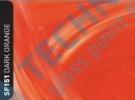 RSF151 - Dark Orange Wisp - fólie pro skleněné vitráže