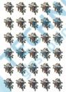 VĚTVIČKA - ŠIŠKY, 32x40mm