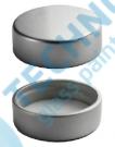 Uzávěr GPI 400/33 stříbrný plochý