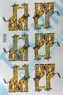 A 51541 Z32 KDV Dekor 3/55x60 motiv K žirafy