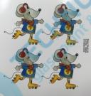A 51541 Z29 KDV Dekor 3/55x60 motiv G myška