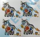 A 51541 Z30 KDV Dekor 3/55x60 motiv H zebra